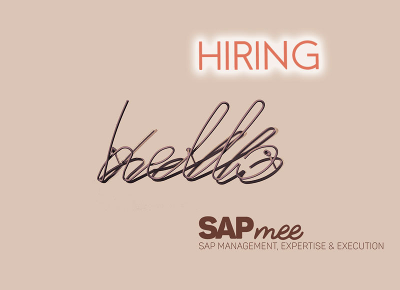 ¿Consultor SAP Barcelona? We are hiring!!!