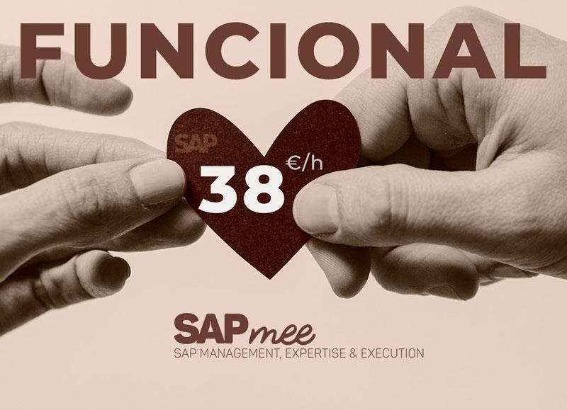 Oferta SAP Funcional a 38€
